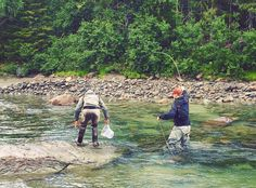 photo by @scandiflyguides • Down The River, Trout, Fly Fishing, Places To Visit, America, Instagram Posts, Water, Ideas, Gripe Water