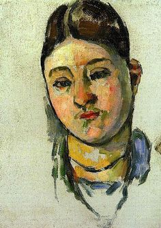 Paul Cézanne - Portrait of Madame Cezanne, 1883