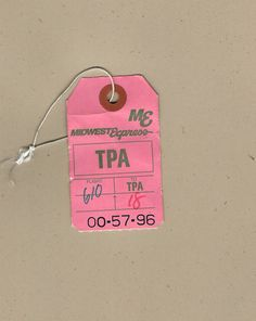 Vintage Airline, Bag Tag, Layout, Tags, Projects, Log Projects, Blue Prints, Page Layout, Mailing Labels