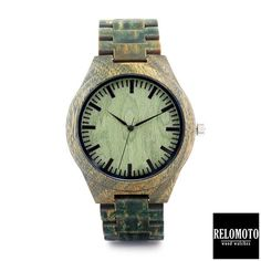 Makisig Palo Santo Wood Watch - Relomoto