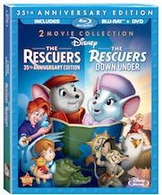 The Rescuers and The Resucers Down Under Special Edition 2 movie collection