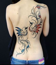 phoenix totem | Girl tattoo, Feminine tattoo, Female tattoo