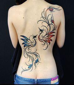 Resultado de imagem para fenix tattoo