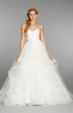 103 Elegant Strapless Wedding Dresses