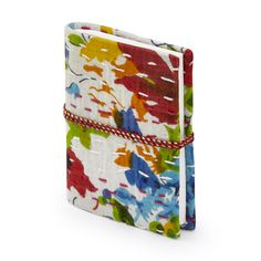 Buy Kantha Stitch Notebook White, Oxfam, Sourced by Oxfam, Calendars and Diaries Tango Dancers, Kantha Stitch, Amy, Coin Purse, Workshop, Stationery, Notebook, Notes, Pocket