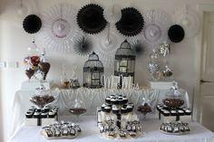Black & White themed Lolly Bar