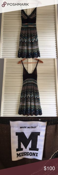 M Missoni knot woven dress size small Adorable Missoni knit dress! Size 40 (SMALL), no stains, rips, tears! In amazing condition from a non pet, non smoke household M by Missoni Dresses Mini