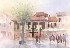 Place De Verfun, Castelnaudary SW France