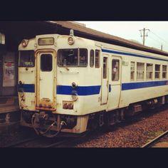 JR train at Orio station