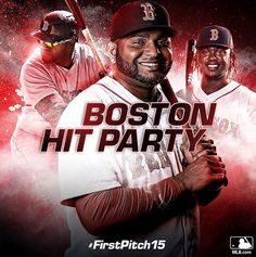 THIS is coming. #FirstPitch15 @bostonredsox