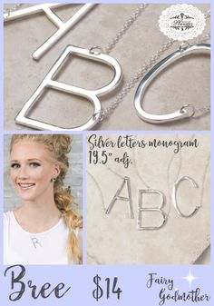 #necklace #initial #jewelry #fashion #fashionjewelry
