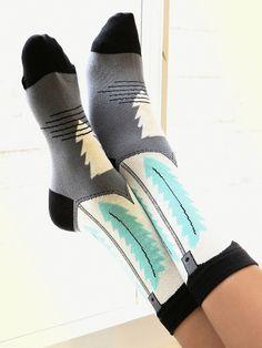 Free People Oregon Trail Sock, $12.00