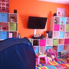 My daughters play room