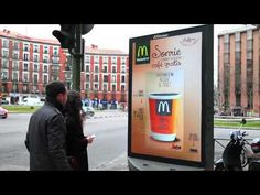 JCDecaux Spain: Innovate for McDonald's