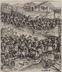 The Battle of Guinegate (Triumphal Arch of Maximilian)   Museum of Fine Arts, Boston