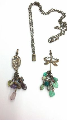 Great way to save room in you jewelry box by having one chain with a box clasp on the end and make multiple dangles to switch out when you want to match an outfit!