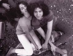 Jerry Garcia and Mountain Girl