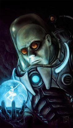 Mr Freeze by ~IanSchofield on deviantART Batman, Arkham Asylum, Illustration, Photoshop, artwork, DC Comics, fanart