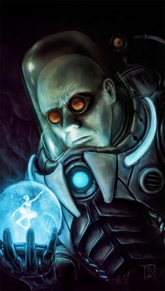 Mr Freeze by ~IanSchofield on deviantART Batman, Arkham Asylum, Illustration, Photoshop, artwork, DC Comics, fanart