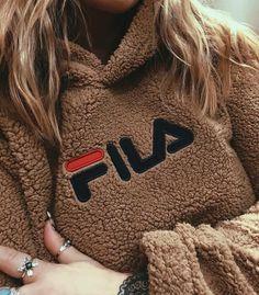 FILA Toffee Teddy Hoodie | Urban Outfitters | Women's | Tops | Hoodies & Sweatshirts @kayleighjeana #UOonYou #UOEurope