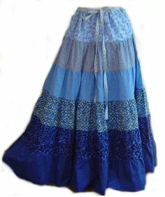 Trendy Sewing Ideas For Ladies Skirt Patterns Full Skirt Outfit, Blouse And Skirt, Skirt Outfits, Dress Skirt, Modest Fashion, Boho Fashion, Vintage Fashion, Fashion Outfits, Fashion Design