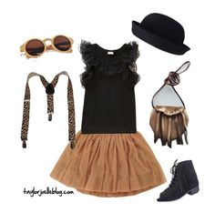 Sassy and stylish look for your mini fashionista