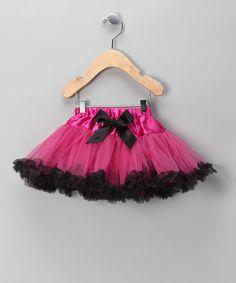 Hot Pink and Black Pettiskirt