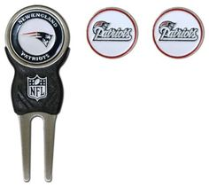 NFL New England Patriots Signature Divot Tool and 2 Extra Markers by Team Golf. $16.86. NFL New England Patriots Signature Divot Tool and 2 Extra Markers