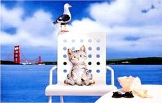 Cute little animals of the Japanese artist Makoto Muramatsu