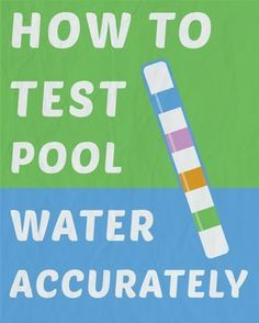 What most pool owners dont know, however, is theres a right and wrong way to test your water, no matter what type of testing youre doing. It all starts with the water sample. My Pool, Swimming Pools Backyard, Pool Decks, Pool Landscaping, Lap Pools, Pool Fun, Indoor Pools, Pool Cleaning Tips, Cleaning Hacks