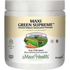 Maxi Green Writers (170 g) for more energy Maxi Health