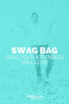 Check out these swag bag ideas that will get your event attendees talking. Business Events, Corporate Events, Business Tips, Offsite Meeting, Event Management, Event Venues, Event Planning, Budgeting, How To Memorize Things