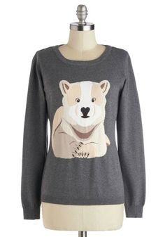Cub On Over Sweater | Mod Retro Vintage Sweaters | ModCloth.com