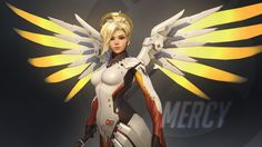 Video Game Overwatch  Mercy Wallpaper