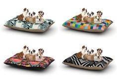 Over 300 unique, affordable, and modern dog beds designed by artists around the world available from KESS InHouse. Custom dog bed designs also available. Custom Dog Beds, Dog Milk, Designer Dog Beds, Cat Design, Little Dogs, Pet Accessories, Mans Best Friend, Dog Stuff, Animals And Pets