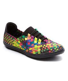Black Rainbow Aragony Slip-On Sneaker by Serene Comfort #zulily #zulilyfinds http://www.zulily.com/p/black-rainbow-aragony-slip-on-sneaker-119902-25309421.html?tid=social_pin_ref_shareviaicon_eventpage_modal_39d238b577397e2c060091bb119a669a&utm_content=bufferfd321&utm_medium=social&utm_source=pinterest.com&utm_campaign=buffer