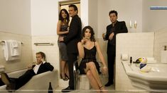 how i met your mother cast in metro tiled bathroom