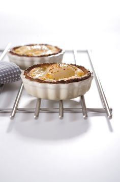 Le Creuset Dune Mini Fluted Flan Dishes