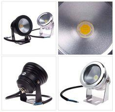 10W LED 12V Warm / Weiß Licht Unterwasser-Pool Teich Aquarium Scheinwerfer , IP68