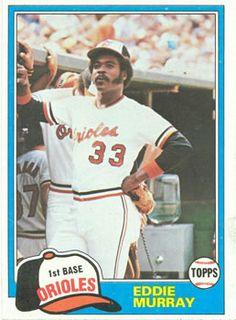 1981 Topps Eddie Murray Baltimore Orioles Baseball Card for sale online Pirates Baseball, Pro Baseball, Baseball League, Baseball Stuff, Football, Baltimore Orioles Baseball, Baseball Card Values, Baseball Cards For Sale, American Football