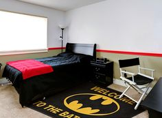 Welcome to the Bat Cave #BatMan Child's Bedroom Rug