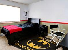 Welcome to the Bat Cave #BatMan Child's Bedroom Rug