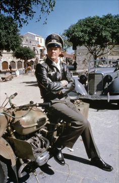 Roger Moore in Escape to Athens Roger Moore, Eric Rogers, Luftwaffe, Montana, James Bond Style, Tony Curtis, Star Wars, Man Photo, Bruce Lee