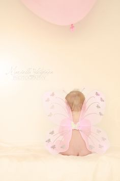 Cute 8 month old baby | Mariella Yletyinen photography; I need to do this with the fairy wings!