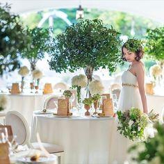 結婚式場写真「テーブルコーディネートやお花にも、お二人らしさを」 【みんなのウェディング】