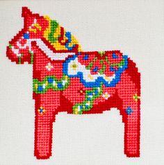 dalahastar cross stitch patterns - Google Search