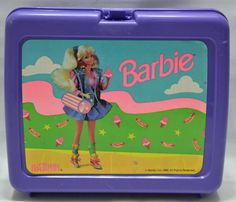 Your place to buy and sell all things handmade Vintage Barbie, Vintage Dolls, Vintage Lunch Boxes, Ol Days, Barbie World, 90s Kids, Good Ol, Childhood Memories, Toy Chest