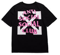 Anti Social Club just got a whole lot better with its arrow t-shirt. This short-sleeved shirt is made from breathable, anti-shrink and quick-dry cotton. Check out more from this collection at shopurl.com #AntiSocialSocialClub #ASSC