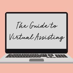 The Guide to Virtual Assisting will show you how to start working from home and be your own boss. Set up your own VA biz and take complete control of your work life! Midlife Career Change, Blog Writing Tips, Home Based Business, Online Business, Positive Living, Online Entrepreneur, Digital Nomad, Work From Home Moms, Earn Money Online