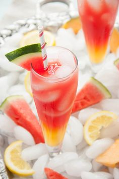Refreshing Watermelon Cantaloupe Lemonade